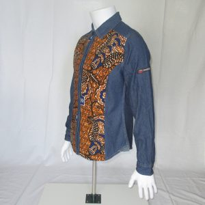 Denim Shirt with Print Janeiro1
