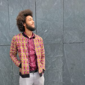 Jacket with Print Porto Novo