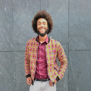 Jacket with Print Porto Novo 1
