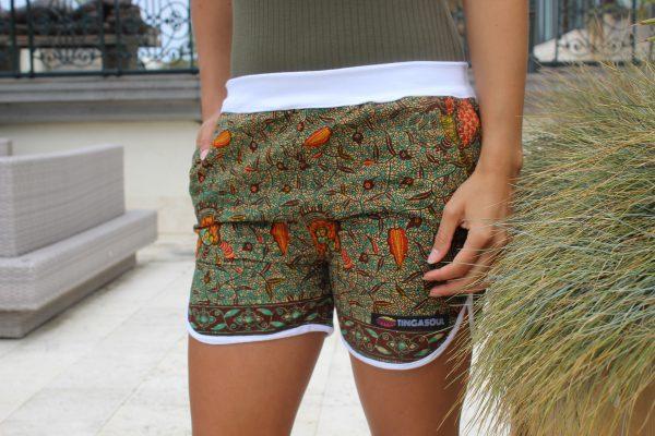 Elastic Waiste Shorts Luanda