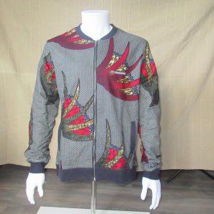 Jacket with Print Masamba