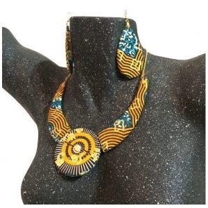 Necklace and earrings set Lusaka