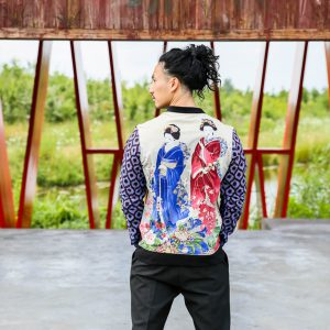 Jacket with Print Miyoharu 1