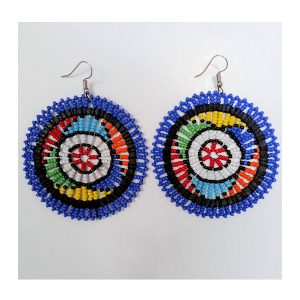 Earrings Masasi Blue