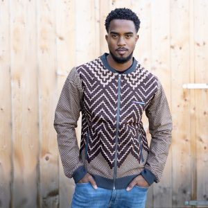 Jacket with Print Mister Diop