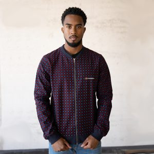 Jacket with Print Cambridge