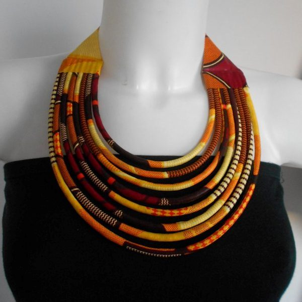 Necklace Burning Fire