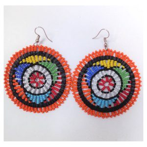 Earrings Masasi Orange