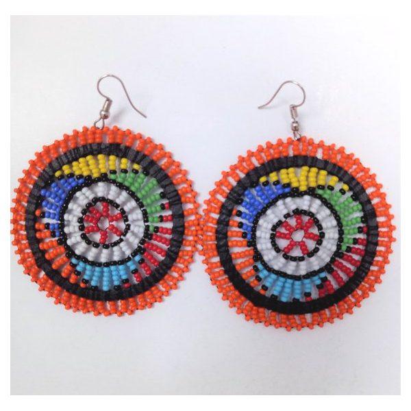 Earrings Masasi Orange